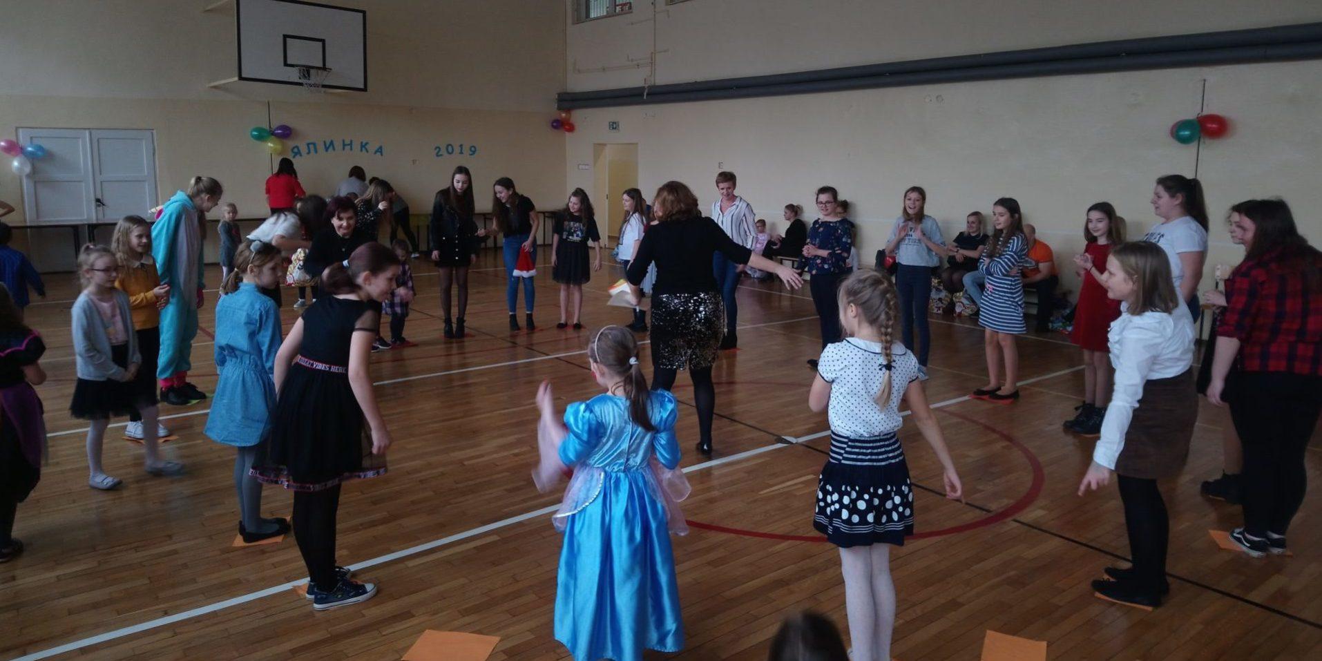 fefab636e5 Adama Mickiewicza w Bielsku Podlaskim odbyła się Choinka ukraińska –  noworoczna zabawa dla dzieci i młodzieży